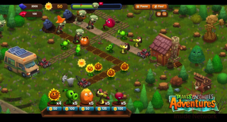 Plants-Vs-Zombies-Adventures-On-Facebook