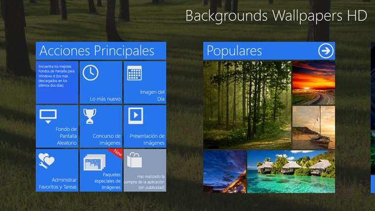 Backgrounds Wallpapers HD_windows8